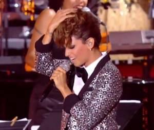 Tal a repris Wanna Be Startin' Somethin' de Michael Jackson sur France 2, le 21 juin 2014