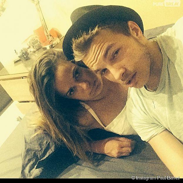 Capucine Anav et Paul Bartel complices sur Instagram, le 24 juin 2014
