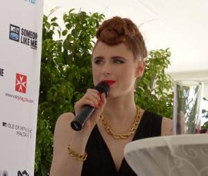 Kiesza au festival Isle of MTV à Malte, le 25 juin 2014