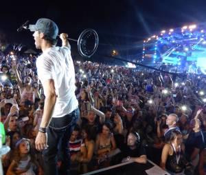Enrique Iglesias au festival Isle of MTV à Malte, le 25 juin 2014