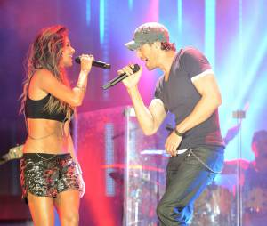 Nicole Scherzinger et Enrique Iglesias au festival Isle of MTV à Malte, le 25 juin 2014