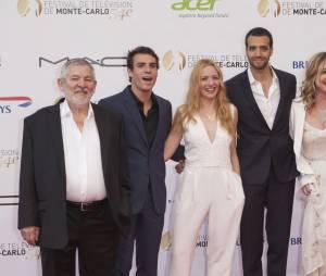En famille : les acteurs présents au 54ème Festival de télévision de Monte Carlo