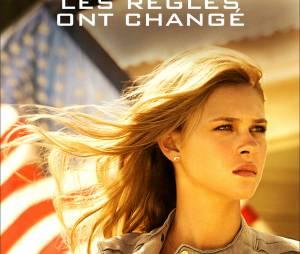 Transformers l'âge de l'extinction : Nicola Peltz sur un poster