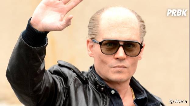 Johnny Depp méconnaissable en truand chauve dans Black Mass
