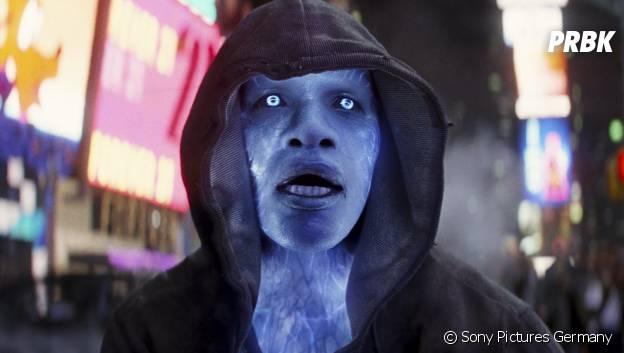 Jamie Foxx en Electro dans The Amazing Spider-Man 2