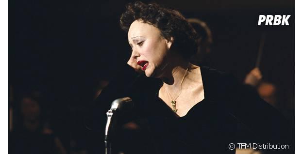 Marion Cotillard en Edith Piaf dans La Môme