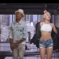 Miley Cyrus : apparition sage dans Come Get It Bae, le clip de Pharrell Williams