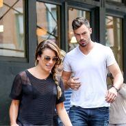 Lea Michele : après les vacances sexy, de retour à New York avec Matthew Paetz