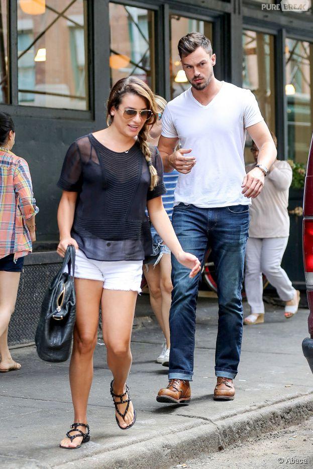Lea Michele : de retour à New York avec Matthew Paetz le 23 juillet 2014