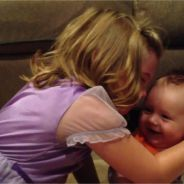 [CUTE] Une petite fille éclate en sanglots en apprenant que son frère va grandir