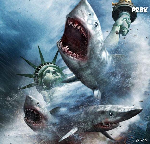 Sharknado 2 : les 10 moments les plus délirants (et ridicules) en GIFs