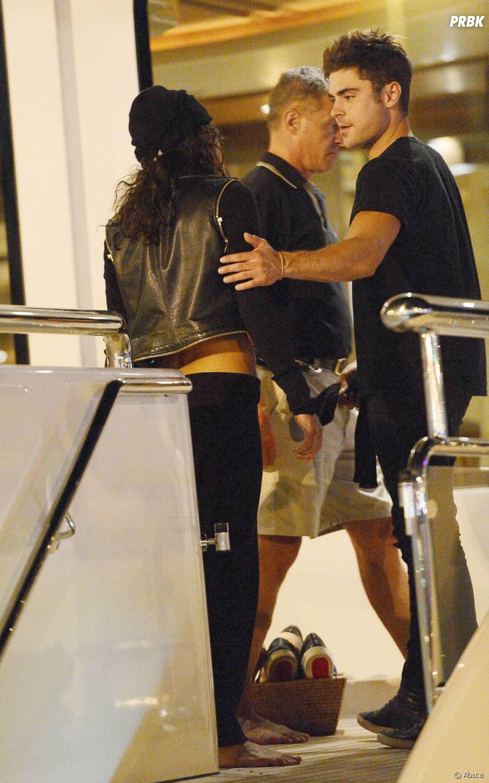 Zac Efron et Michelle Rodriguez à Ibiza, le 1er août 2014