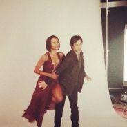 The Vampire Diaries saison 6 : Damon et Bonnie proches pour une séance photo