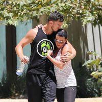 Lea Michele et Matthew Paetz : bisou et câlins pour le couple sportif