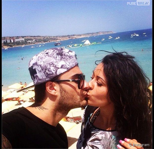 Shanna et Thibault : les ex candidats des Anges 6 sexy sur leurs photos de vacances, août 2014
