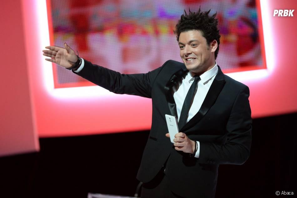 Kev Adams sur la scène de la cérémonie des César 2014