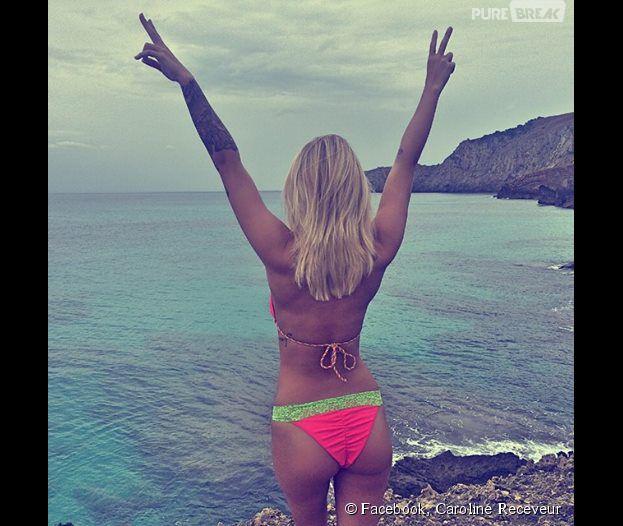 Caroline Receveur en bikini sur Instagram