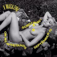 Miley Cyrus nue et ultra sexy pour V Magazine et Karl Lagerfeld