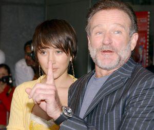 Zelda Williams avec son père, l'acteur Robin Williams, qui s'est suicidé le 11 août dernier.