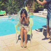 Anais Camizuli défie Aurélie Dotremont après son Ice Bucket Challenge hystérique