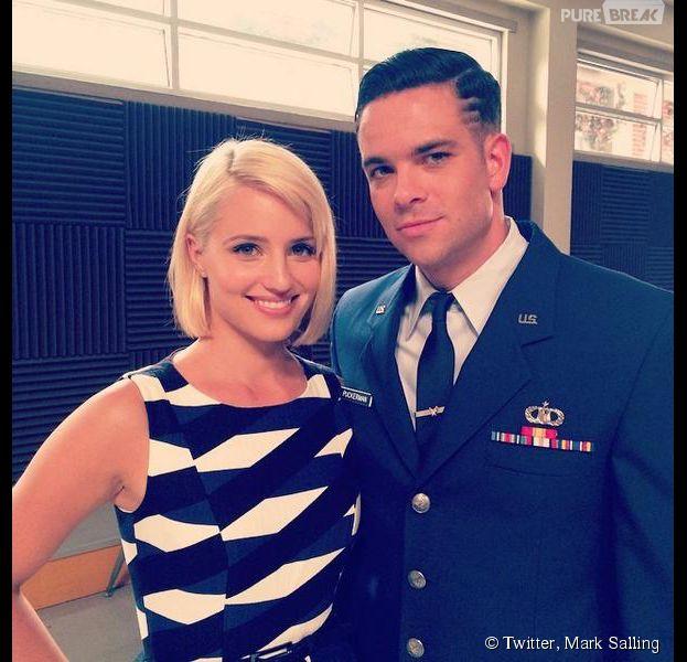 Glee saison 6 : Dianna Agron et Mark Salling de retour sur le tournage