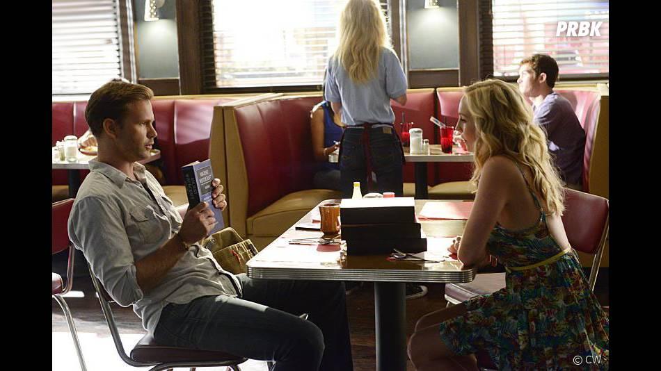 Vampire Diaries saison 6, épisode 1 : Matt Davis et Candice Accola sur une photo