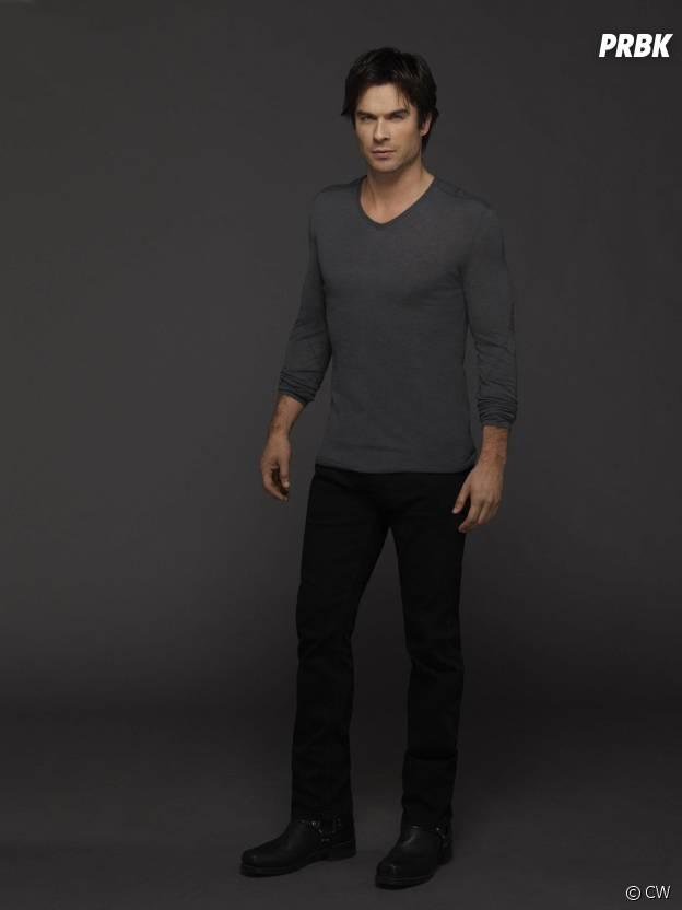 Vampire Diaries saison 6 : Ian Somerhalder sur une photo promo