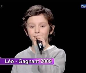 Léo Rispal, grand gagnant de L'Ecole des stars sur D8 en 2009