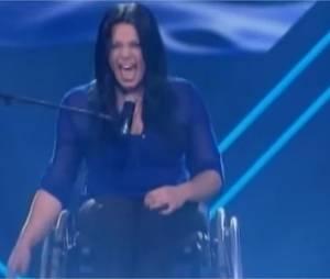Emanuelle Robitaille lors des auditions de The Voice 2013 au Canada
