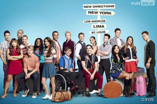 Glee : une naissance dans la série