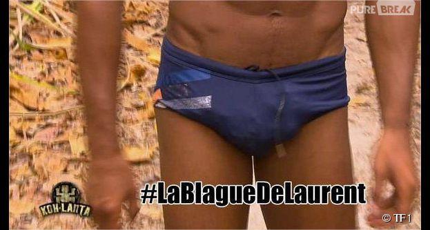 Koh Lanta 2014 : la blague de Laurent et son slip font marrer Twitter