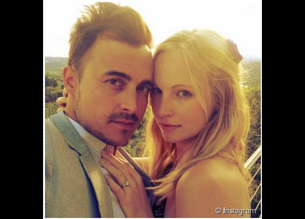 Candice Accola et Joe King du groupe The Fray : le couple s'est marié