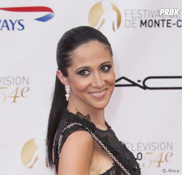Fabienne Carat au 54ème Festival de télévision de Monte Carlo en juin 2014