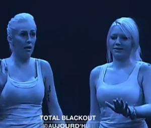 Gaëlle (Les Ch'tis dans la Jet Set) paniquée dans Total Blackout