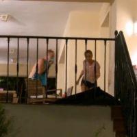 Les Ch'tis dans la Jet Set : Gaëlle se prend une vitre après le départ de Julien