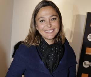 Sandrine Quétier au lancement de la FIAC 2014, le 22 octobre au Grand Palais