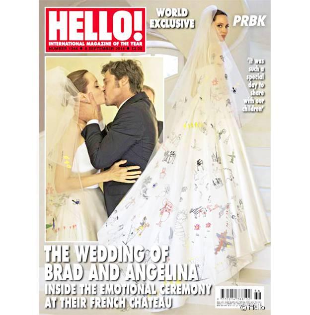 Halloween 2014 : la robe de mariée d'Angelina Jolie