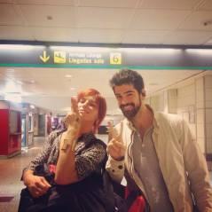 Miguel Angel Munoz et Fauve Hautot (DALS 5) : direction Madrid pour répéter