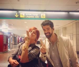 Miguel Angel Munoz et Fauve Hautot (Danse avec les stars 5) à Madrid