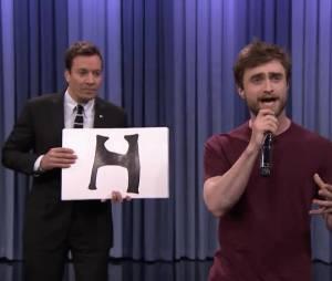 Daniel Radcliffe et Jimmy Fallon en rappeurs