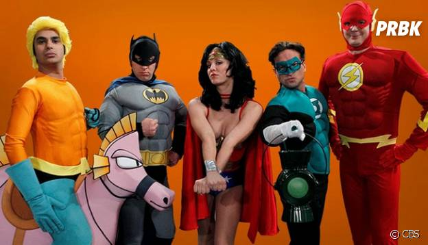 Justice League made in The Big Bang Theory
