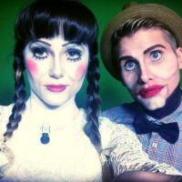 Capucine Anav et Benoît Dubois : déguisements flippants pour Halloween