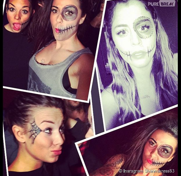 Anaïs Camizuli, Shanna Kress et Stéphanie Durand en morts-vivants pour Halloween