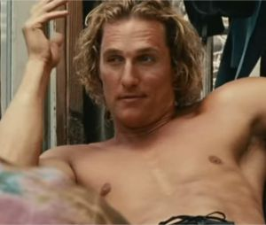 Matthew McConaughey dans Surfer, Dude