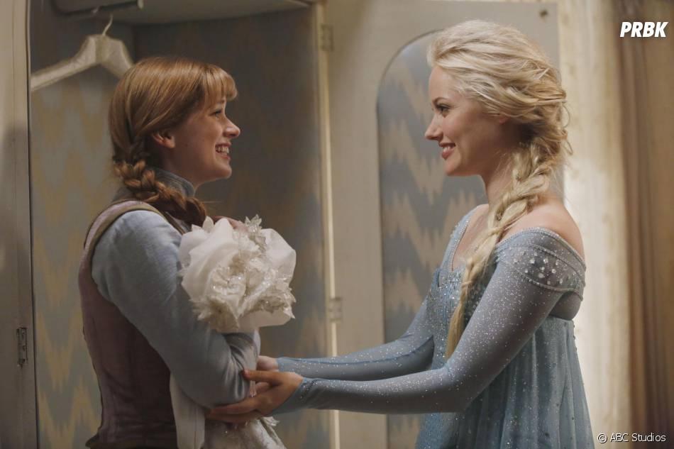 Once Upon a Time saison 4 : Anna et Elsa vont quitter la série