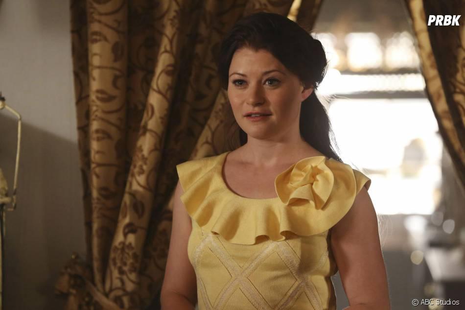 Once Upon a Time saison 4 : Belle aperçue sur le tournage avec un dalmatien