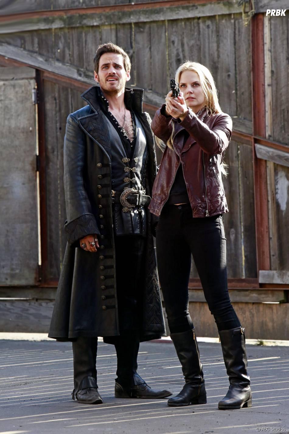 Once Upon a Time saison 4 : Emma et Hook bientôt face à une nouvelle ennemie