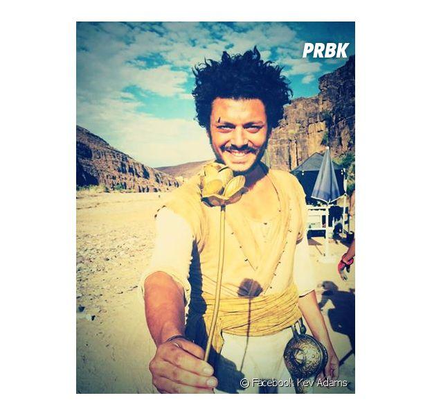 Kev Adams sur le tournage d'Aladin au Maroc