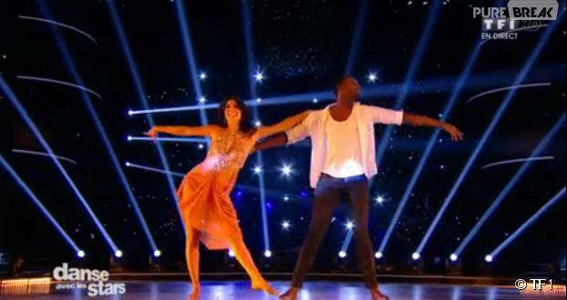 Corneille et Candice Pascal font le show dans DALS 5, le 8 novembre 2014 sur TF1
