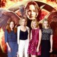 Hunger Games 3 : Jennifer Lawrence, Elizabeth Banks, Julianne Moore et Natalie Dormer à Londres (9 novembre 2014)